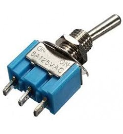 3 PIN TOGGLE SWITCH SPDT (ON-ON)
