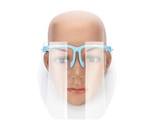 Safety Face Shield - Visor, Glasses, Spectacles Version. New !