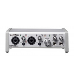 TASCAM SERIES 102i - 10 IN/2 OUT USB Audio/MIDI Interface