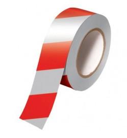 "OYAMA 3"" REFLECTIVE Red/White Warning Floor Tape - 15 Meter"