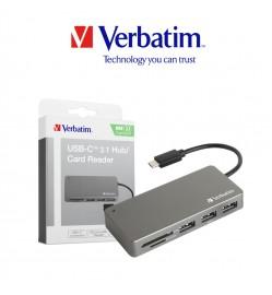 Verbatim USB-C™ 3.1 Card Reader