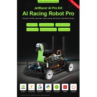 JetRacer Pro AI Kit, High Speed AI Racing Robot Powered by Jetson Nano, Pro Version FULL KITS!