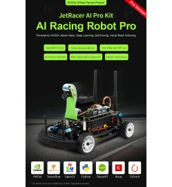 JetRacer Pro AI Kit, High Speed AI Racing Robot Powered by Jetson Nano, Pro Version FULL KITS!
