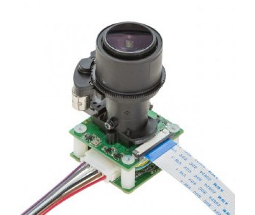 Arducam 5MP 1080p Pan Tilt Zoom PTZ Camera for Raspberry Pi 4/3B+/3