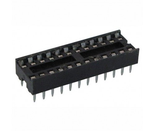 24 Pin IC SOCKET DIP  - 300 MIL