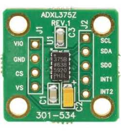 Evaluation Board, ADXL375 3-Axis ±200g Digital MEMS Accelerometer