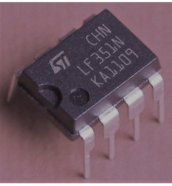 LF351, Single Operational Amplifier (JFET)