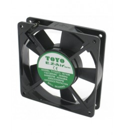 120 x 120 x 25.4mm TOYO AC Fan C/W Fan Guard and 3Pin UK Plug Cable 3Meters