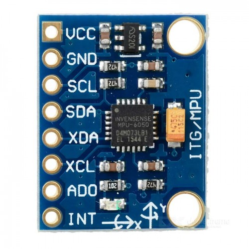MPU6050 - 3 Axis Accelerometer and Gyroscope Module
