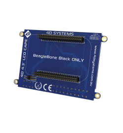 """4.3"""" LCD Cape for BeagleBone Black - Touch display"""