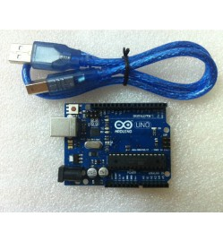 Arduino Uno Rev3 (OEM) with USB Cable