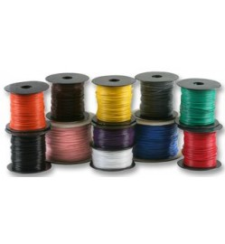 16/0.2MM WIRE 100MTR/ROLL - Orange