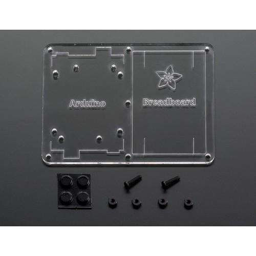 Basic Protable Arduino UNO Rev3 Prototyping Kit Version 1