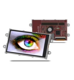 "3.2"" Wide Intelligent LCD module w/ Touch Starter Kit"