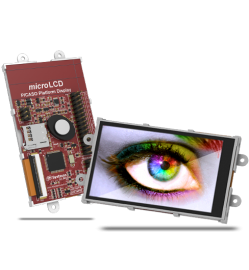 "3.2"" Wide Intelligent LCD module w/ Touch"