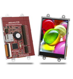 "3.2"" Intelligent LCD module w/ Touch"