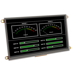 "7.0"" DIABLO16 Intelligent Display Module w/ Touch"