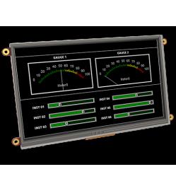"""7.0"""" DIABLO16 Intelligent Display Module w/ Touch Starter Kit"""