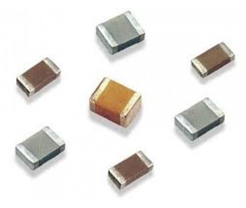 0.0015UF 50V CERAMIC MULTILAYER CHIP CAP. SIZE 1206