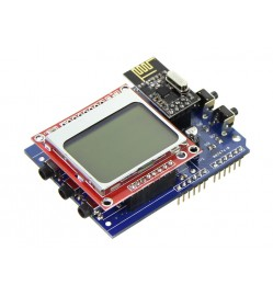 Energy Monitor Shield - Monitoring System with Nokia LCD Screen (Discontinued)
