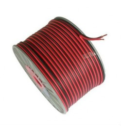 Red & Black Flat Cable 2x23