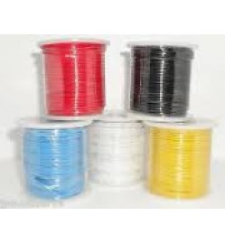 1/0.6MM WIRE 100MTR/ROLL - Black