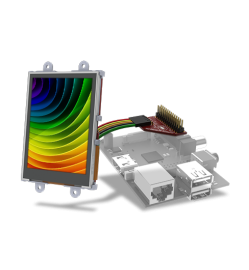 "2.4"" Raspberry Pi Display Module Pack"