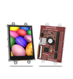 "2.4"" Intelligent LCD Module W/ Touch Starter Kit"