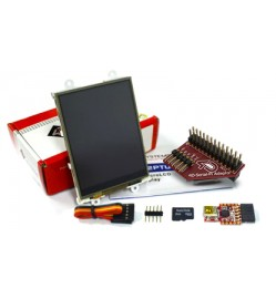 "3.2"" LCD Display Starter Kit for Raspberry Pi"