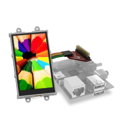 "3.2"" Wide Raspberry Pi Display Module Pack"