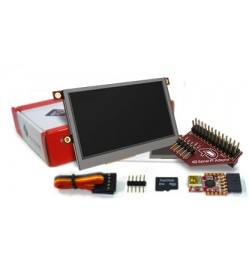 "4.3"" LCD Display Starter Kit for Raspberry Pi"