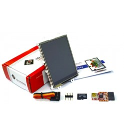 "2.8"" Intelligent LCD module w/ Touch Starter Kit"