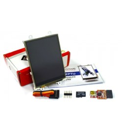 "3.2"" Intelligent LCD module w/ Touch Starter Kit"
