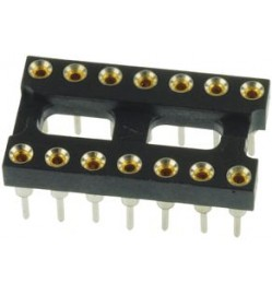14 Pos ROUND PIN IC SOCKET