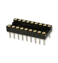 18 Pos ROUND PIN IC SOCKET
