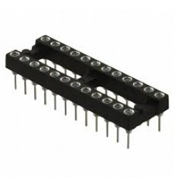 24 Pos ROUND PIN IC SOCKET