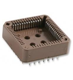 52 Pin PLCC IC Socket - Through-Hole