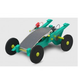 Volta Racers Solar Motorcar Kit - Green