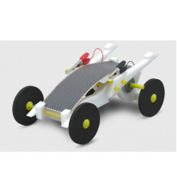 Volta Racers Solar Motorcar Kit - White