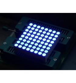 38mm 8x8 square matrix LED - Blue Common Anode