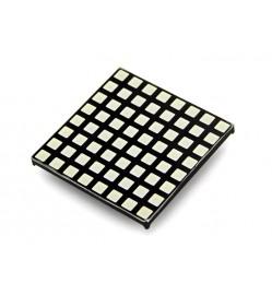 8x8 RGB LED Matrix - Square LED Dot