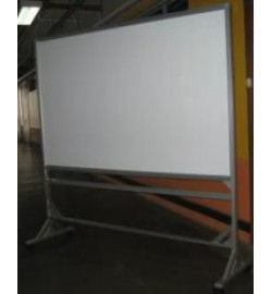 Mobile Magnetic Whiteboard L1800mm x H1200mm x 2000mm