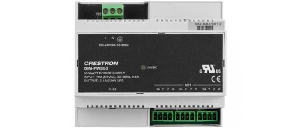 DIN Rail 50 Watt Cresnet Power Supply