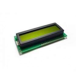 LCD 16x2 Characters - Green Yellow back light 5VDC