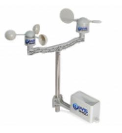 Sensors Anemometer + wind vane + pluviometer
