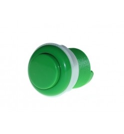 TEM12282B - 33mm Arcade Game Push Button - Green