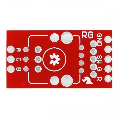 Rotary Encoder Breakout - Illuminated (RGRGB)