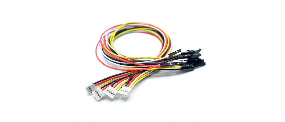 Grove - 4 pin Female Jumper to Grove 4 pin Conversion Cable (PCs  per PAck)