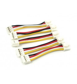 Grove - Universal 4 Pin Buckled 5cm Cable (5 PCs Pack)