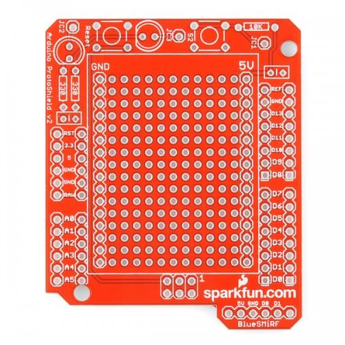 Arduino ProtoShield - Bare PCB (SparkFun)